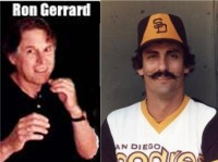 Rollie Fingers and Ron Gerrard
